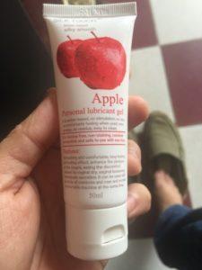Gel bôi trơn Apple hương táo